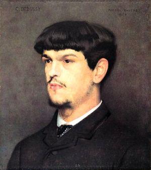 Claude Debussy by Marcel Baschet 1884.jpg